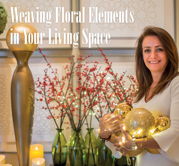 Weaving Floral Elements in Your Living Space