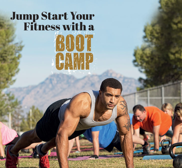 Jump Start Your Fitness with a Boot Camp